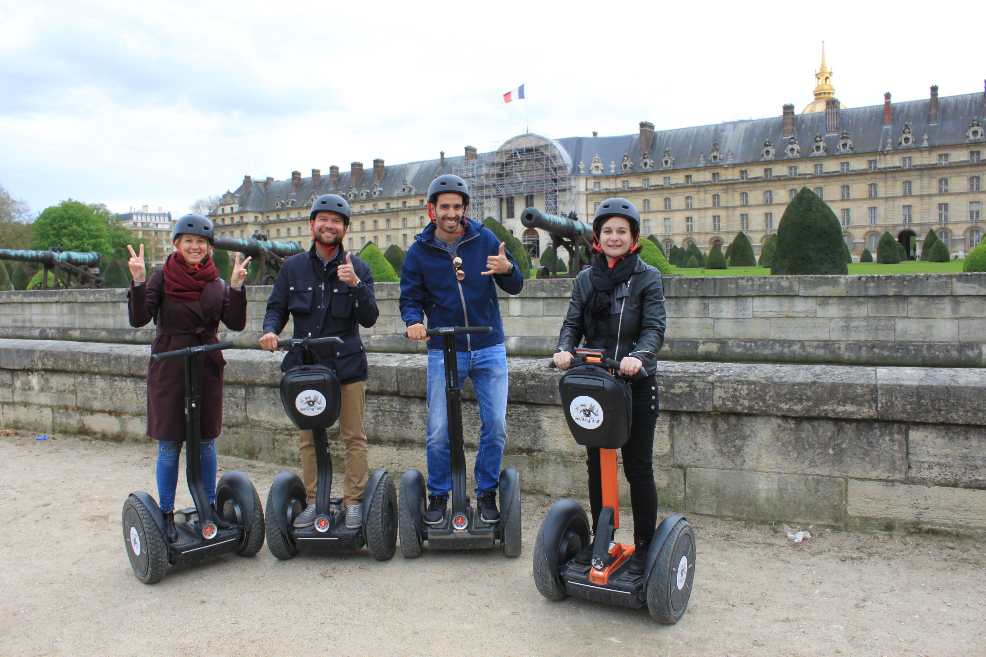 Optez pour une visite à Paris en Segway
