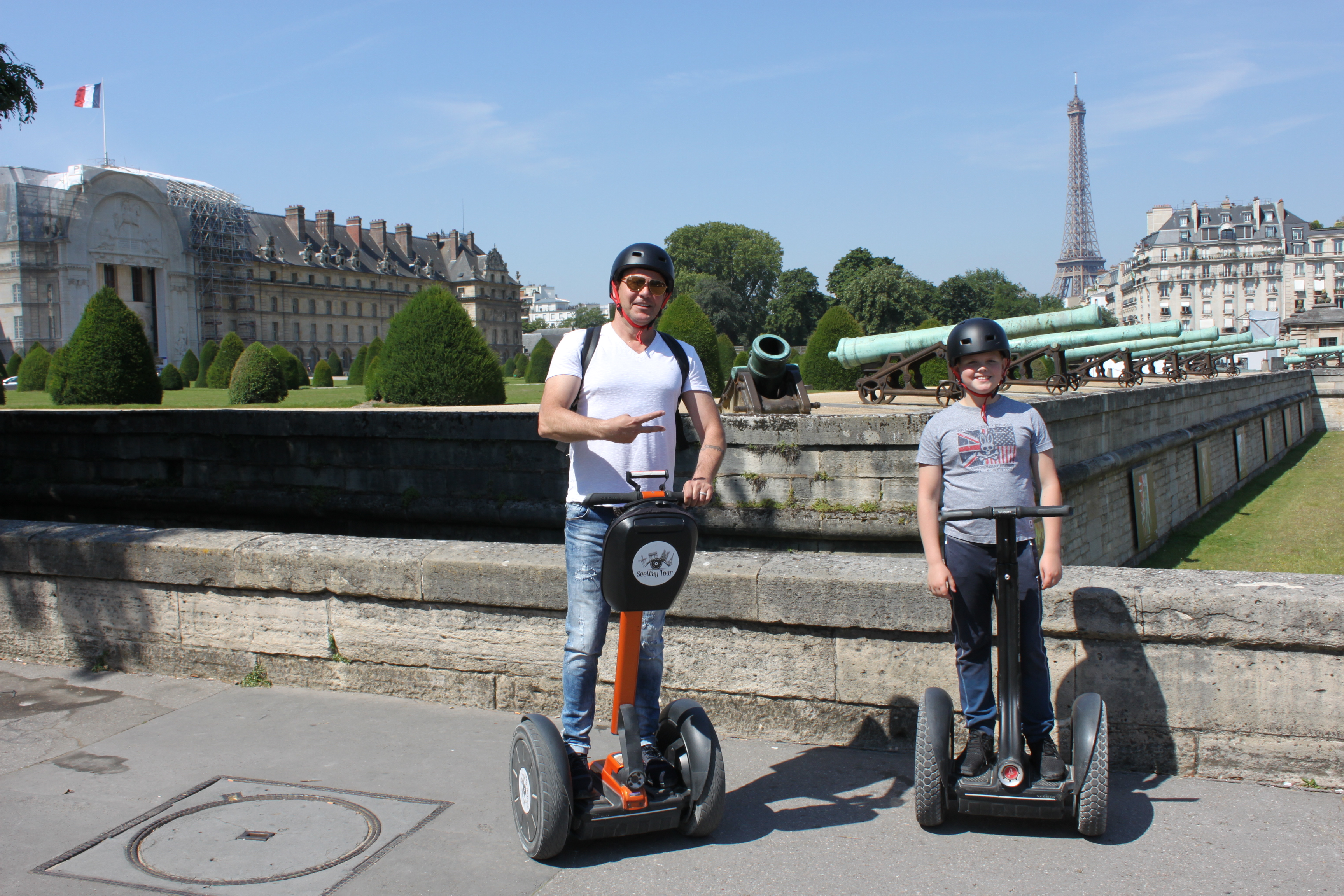 Stilll thinking about a Segway tour or a walking tour ?